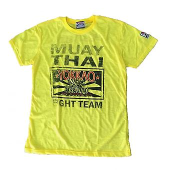 Fight Team T-Shirt - Yellow