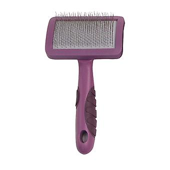 Rosewood Soft Protection Salon Slicker Brush