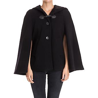 Twin set women's PA728P00006 Black wool coat