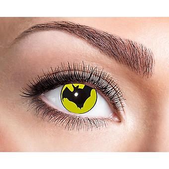Bat comics superhero contact lenses
