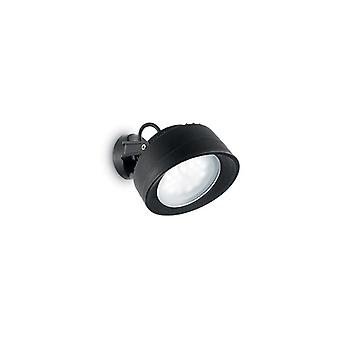 Ideal Lux - Tommy Black Wall Light Idl145341