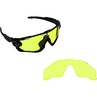 Best SEEK OPTICS Replacement Lenses for Oakley JAWBREAKER HI Intensity Yellow