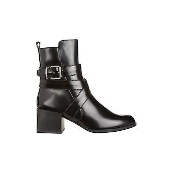 Truffle Collection Strap Buckle Ankle Boot