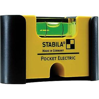 Mini spirit level 7 cm Stabila Pocket Electric