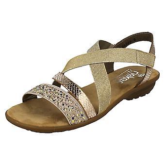 Ladies Rieker Antistress Summer Sandals V3463