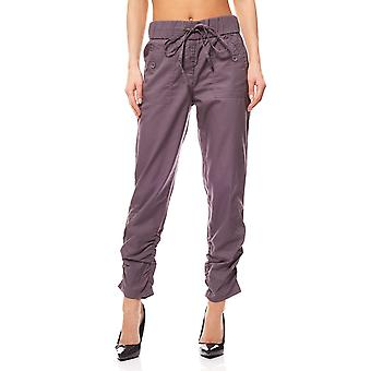 7/8 summer trousers ladies of mauve linea TESINI