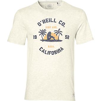 O'Neill Mens LM Surf Co. Fifties Style Graphic Organic Jersey T-Shirt