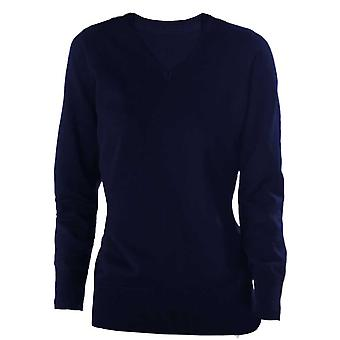 Kariban Womens  V-Neck Jumper