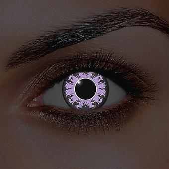 i-Glow Amethyst Contact Lenses (Pair)