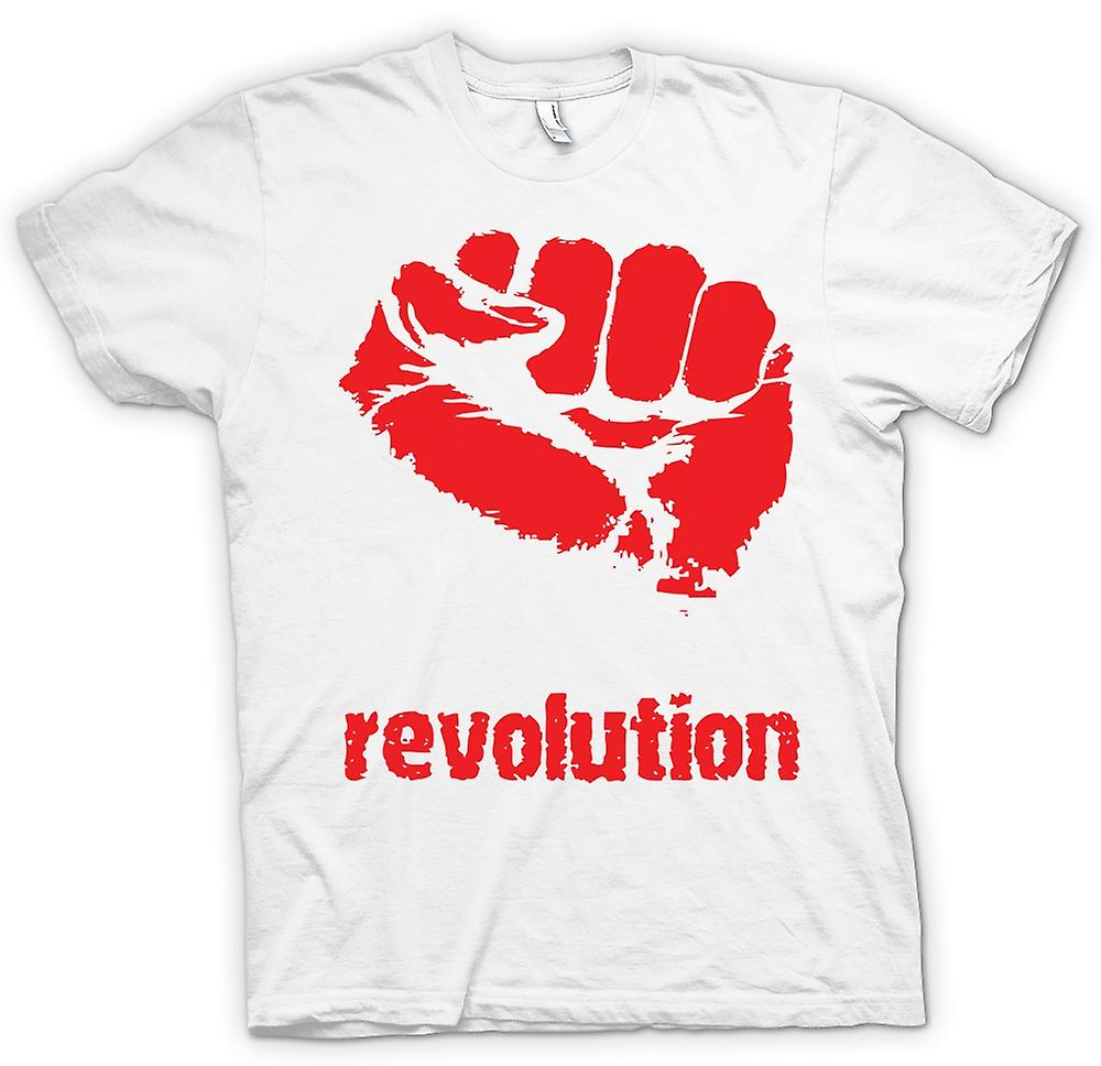 Mens T-shirt - revolutie - anarchie