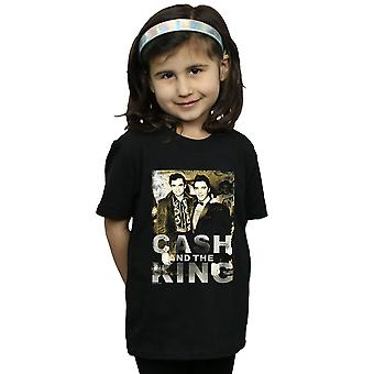 Johnny Cash Girls Cash And The King T-Shirt