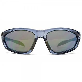 FCUK Easy Wrap Sunglasses In Crystal Blue