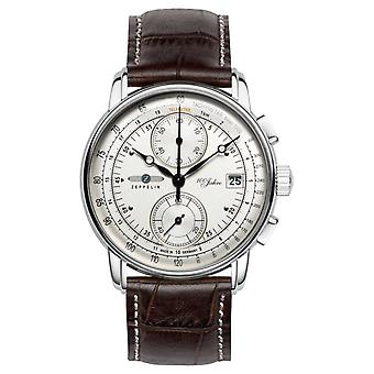 Zeppelin | Series 100 Years | Edition 1 | Cream Chronograph Date | 8670-1 Watch