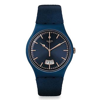 Swatch Cent Bleu Unisex Watch SUON400