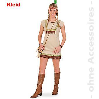 Native American Indian dress ladies costume teen Pocahontas costume