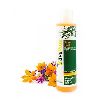 Natural bath foam with olive leave extract 200ml.