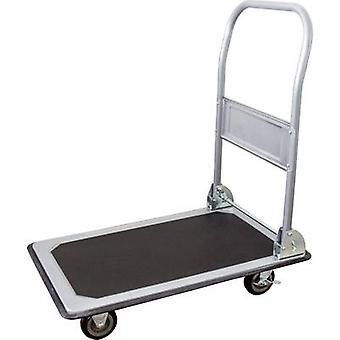 pro-bau-tec® 14020 pieghevole carrello piatto, capacità di carico della piastra freno in acciaio (max.): 150 kg