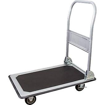 pro-bau-tec® 14020 Flatbed trolley folding, Brake Steel plate Load capacity (max.): 150 kg
