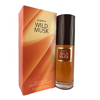 Wild Musk For Women By Coty 1.5 oz Cologne Spray