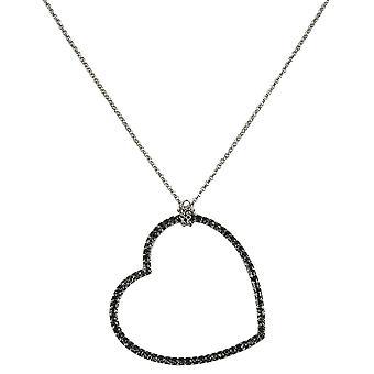 s.Oliver dames ketting ketting met hart hanger 39.802.9A.2543-0011