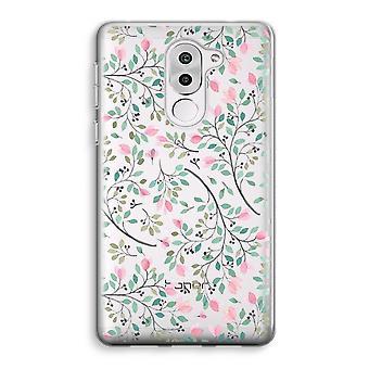 Honor 6X Transparent Case (Soft) - Dainty flowers