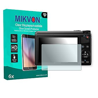Olympus XZ-10 Screen Protector - Mikvon Clear (Retail Package with accessories)