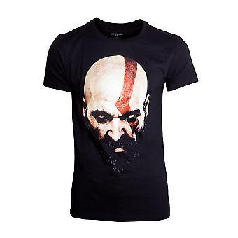 God of War T-Shirt Kratos Face