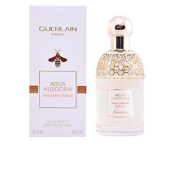Guerlain Aqua Allegoria Mandarine Bohnenschoten Edt Spray 125 Ml für Damen