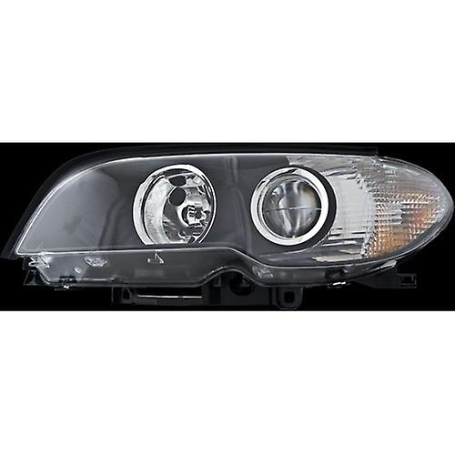 HELLA 354204211 BMW 3 Series E46 Driver Side Replacement Headlight Assembly