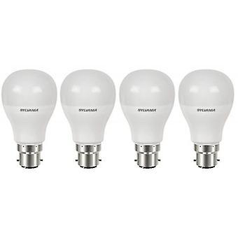 4 x Sylvania ToLEDo A60 B22 V4 9W Homelight LED 810lm [Energy Class A+]