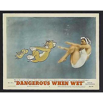 Gefährlich bei Nässe Movie Poster (11 x 17)