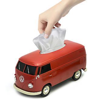 Official VW Camper Van Tissue Box Holder - Red