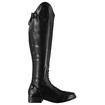 Campo de Galtymore de las mujeres Dublin botas caballo largo cuero superior amortiguador