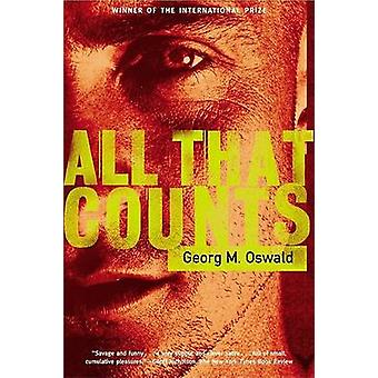 All That Counts by Georg M Oswald - Shaun Whiteside - 9780802139313 B