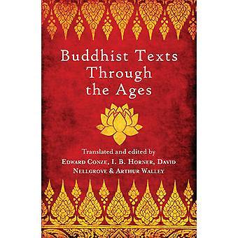 Textos budistas a través de las edades de I. B. Horner - David Snellgrove-