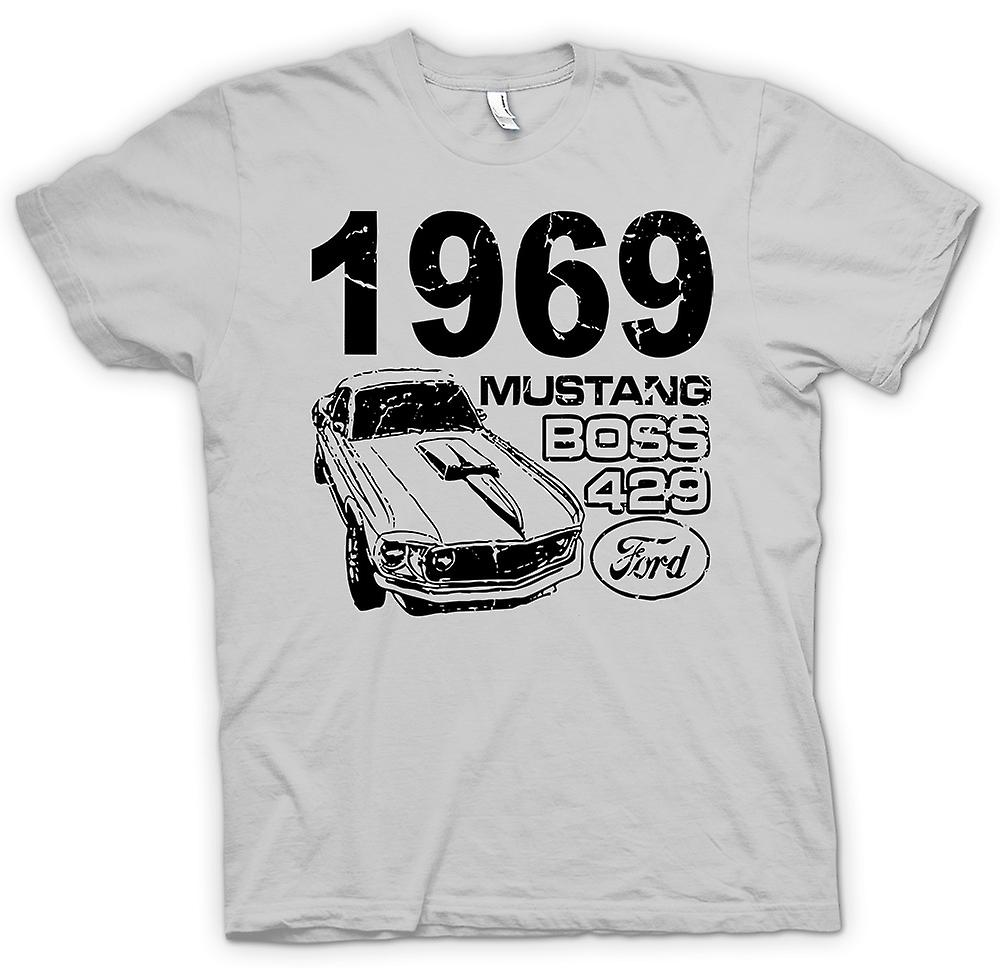 Mens T-shirt - 1969 Mustang Boss 429 - Classic U.S. Car