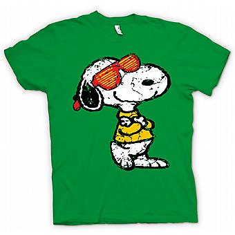 Kinder T-shirt-Snoopy mit Cool Shades - lustig