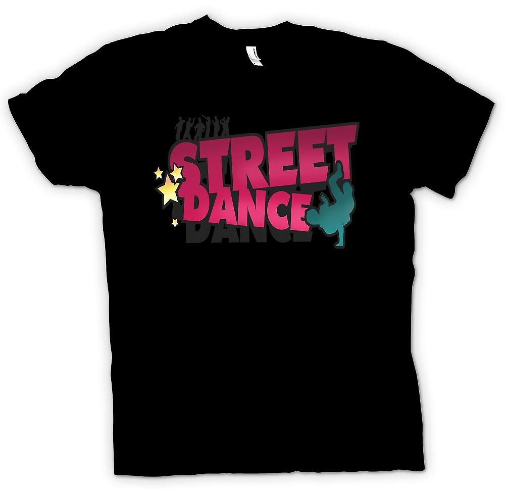 Womens T-shirt - Street Dance - Breakdancing inspirerad