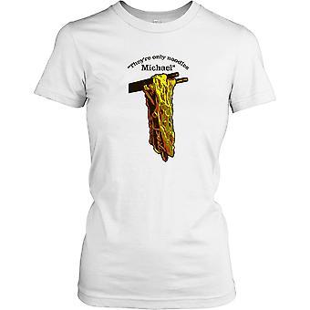 The Lost Boys - ze zijn alleen noedels Michael - film geïnspireerd T damesshirt