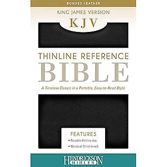 KJV Thinline Reference Bible - Black