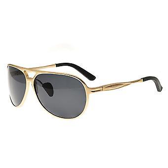 RAS Earhart Aluminium gepolariseerde zonnebril - goud/zwart
