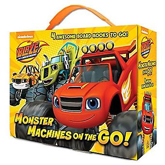 Monster Machines voor onderweg! (Blaze en de Monster-Machines) [Board boek]