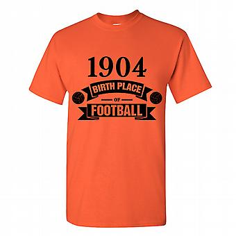 Hull City Birth Of Football T-shirt (orange)