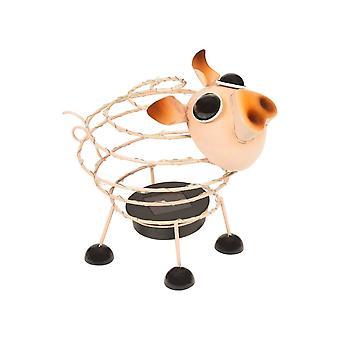 GardenKraft Solar Wire Pig with 62 Micro LED and 4D Moving Effect Garden Decoration