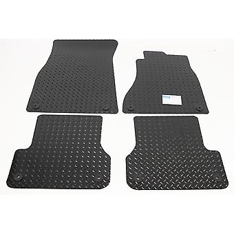 Rubber Tailored Car Floor Mats for Audi A6 2011-2018