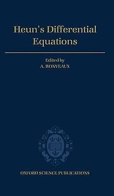 Heuns Differential Equations by Ronveaux & A.