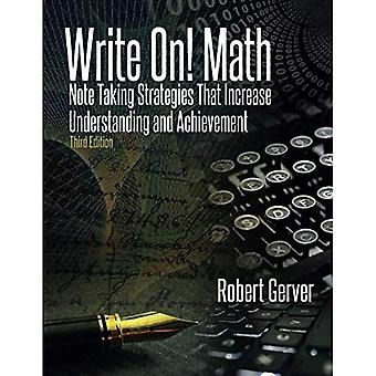 Write On! Math