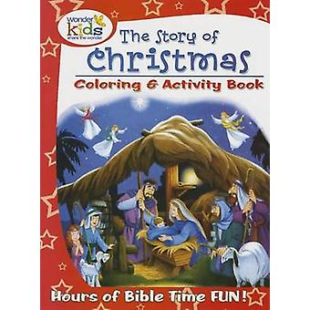 The Story of Christmas Coloring and Activity Book by Concordia Publis