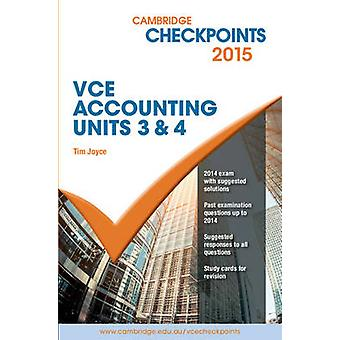 Cambridge Checkpoints VCE Accounting Units 3&4 2015 and QuizMe More b