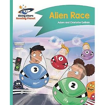 Reading Planet - Alien Race - Turquoise - Comet Street Kids by Adam Gu